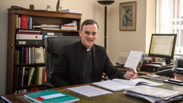 Cardinal welcomes new Auxiliary Bishop of Westminster