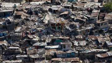"Bishop of Lancaster ""horrified and saddened"" by mass destruction and human suffering caused by Haiti earthquake"