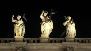 Saints in Vatican Square