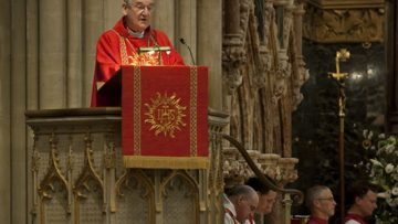Archbishop of Cardiff reaches out to the troubled and over burdened