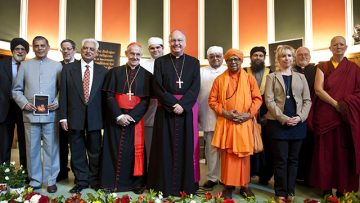 Archbishop: Claim and explore the role of the Church as it develops in a world marked by suffering and war