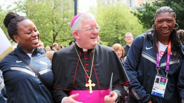 Archbishop Longley praises positive impact of London 2012 Olympic Games