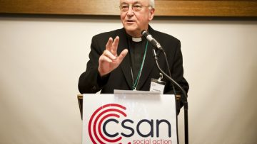 """Archbishop Vincent Nichols – Catholics must not """"shy from adding our voice to public debate"""" on poverty"""