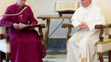 Archbishop of Canterbury's Address to Pope Francis in Historic First Meeting