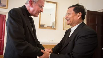 Bishop Declan Lang reflects on Cardinal Bo's historic visit to the UK and Burma's momentous reforms
