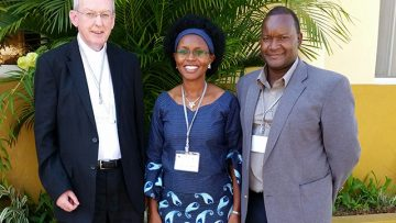 Bishop Declan Lang travels to Mozambique for bishops' meeting on family ministry
