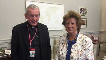 Bishop Declan Lang comments on the fall in global executions