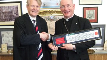 Bishop Richard Moth receives Freedom of the City of London