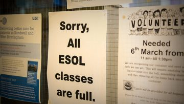 Catholic charity struggling to cope with huge demand for English language classes