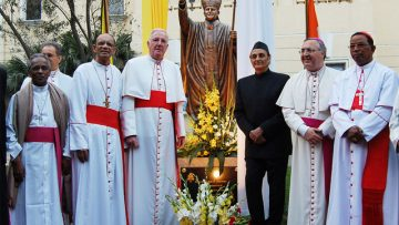 Cardinal reflects on his visit to India