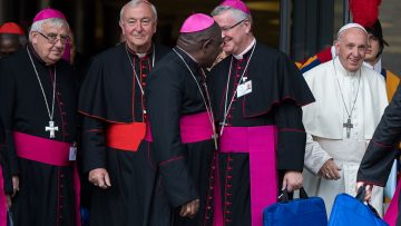 Cardinal Vincent Nichols' Youth Synod Intervention