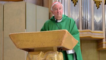 Cardinal Nichols says we should both cherish life and embrace natural death