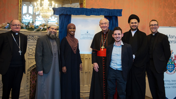 Cardinal and Imams launch new Muslim Certificate in Religious Studies at St Mary's University
