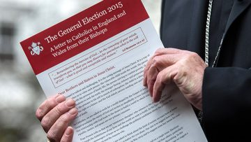 General Election 2015 – Bishops' letter to all Catholics in England and Wales