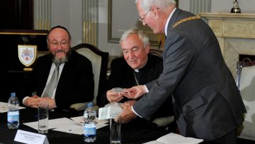 Chief Rabbi Designate and Archbishop of Westminster visit Gibraltar