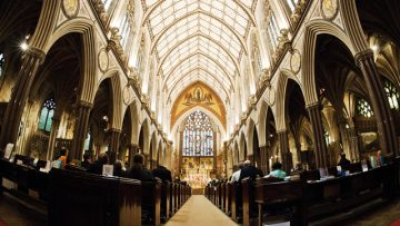 Catholic Churches featured in Anglican Diocese's booklet for Games visitors
