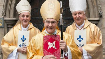 Pope Francis supports the Diocese of East Anglia as it celebrates its 40th anniversary