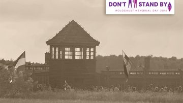 Holocaust Memorial Day 2016 – Don't Stand By