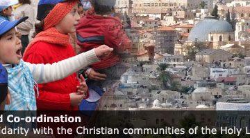 Catholic Bishops to focus on future of Jerusalem for 2010 Holy Land Co-ordination