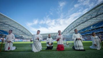 11,000 People Celebrate 50 Golden Years for the Diocese of Arundel and Brighton at the Amex Stadium