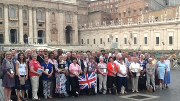 Pope Francis inspires Catholic evangelists from England and Wales at unique gathering in Rome