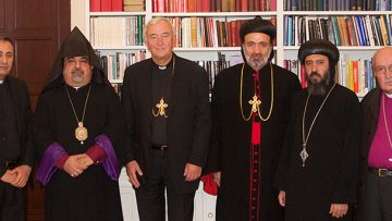 Catholic and Orthodox Church Leaders meet to discuss refugees in Iraq and the region