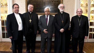 Palestinian President meets Christian leaders