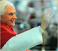 Pope Benedict's Easter Sunday Message and Blessing 2010