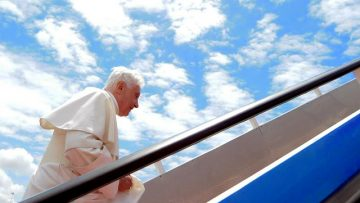 Pope Benedict XVI sends message to the UK
