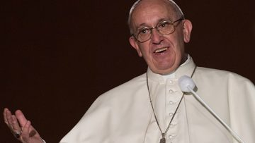 Pope Francis addresses Myanmar's leaders