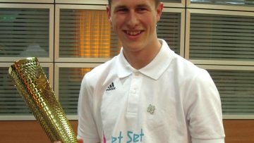 Catholic Student Receives Olympic Flame