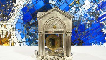 Relic of the heart of St John Vianney on British Soil