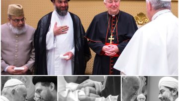 Papal Audience with UK Muslim Leaders