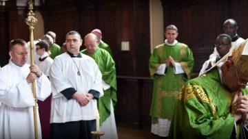 Cardinal Tauran in UK