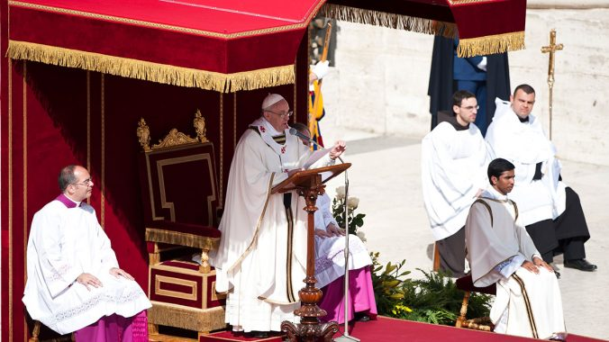 Pope Francis' Inauguration Homily