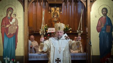 Pope Accepts Resignation of Ukrainian Eparch Bishop Hlib Lonchyna