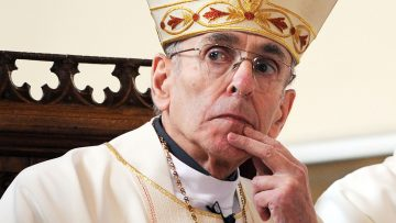 Retired Bishop of Shrewsbury dies peacefully in hospital