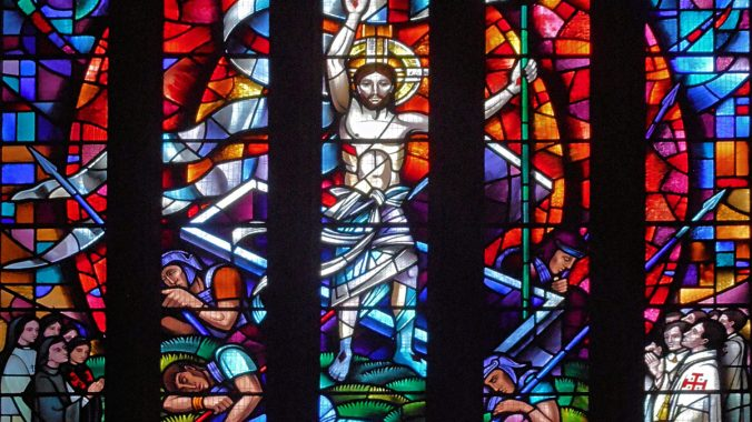 The Art of Stained Glass Scripture