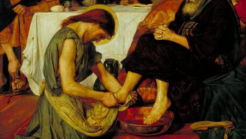 Jesus Washing Peter's Feet 1852-6 by Ford Madox Brown 1821-1893