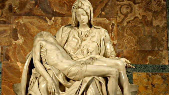 At the Foot of the Cross:  Pietà - 'The Pity'