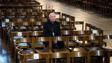"""Opening Catholic churches for private, individual prayer a """"big step forward for society"""", says Cardinal"""