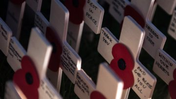 "Remembrance Sunday: ""The fallen are our friends. We are the friends for whom they fell."""