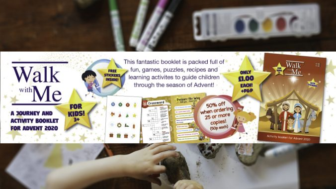 Walk with me Children's Advent Activity Booklet