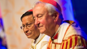 Bishops' Conference President supports Cardinal Bo's call for nonviolence, democracy and dialogue in Myanmar