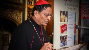Cardinal Bo: Myanmar crisis will not be resolved by bloodshed