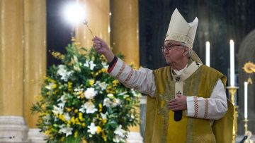 Cardinal's Easter Sunday 'Pause for Thought'