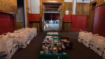 Catholic Church supports thousands of families in Westminster and Cardiff with food poverty relief project