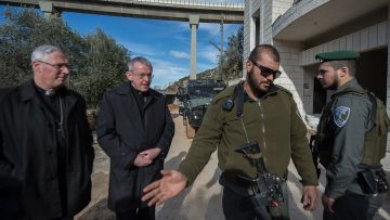 Anglican Bishop and Catholic Bishop call on government to take rights-based approach to peace-making in Israel-Palestine conflict