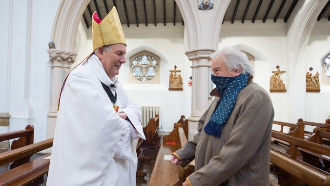 Family Bishop praises Grandparents and the Elderly