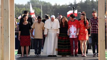 Pope's prayer intention for August: Church on the way